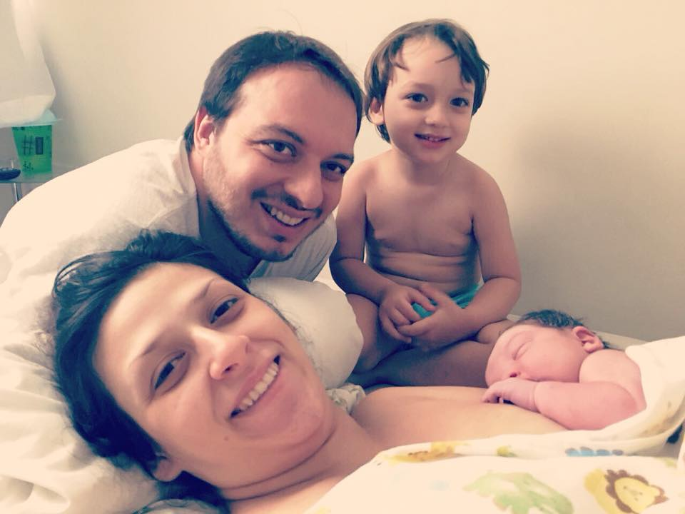 parto normal e bebê grande