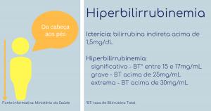 bebe amarelo - ictericia - hiperbilirrubinemia