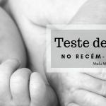 O Teste de Apgar no recém-nascido