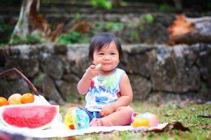 Introdução alimentar, filho, Criança