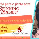 Aula de preparação para o parto com Spinning Babies®