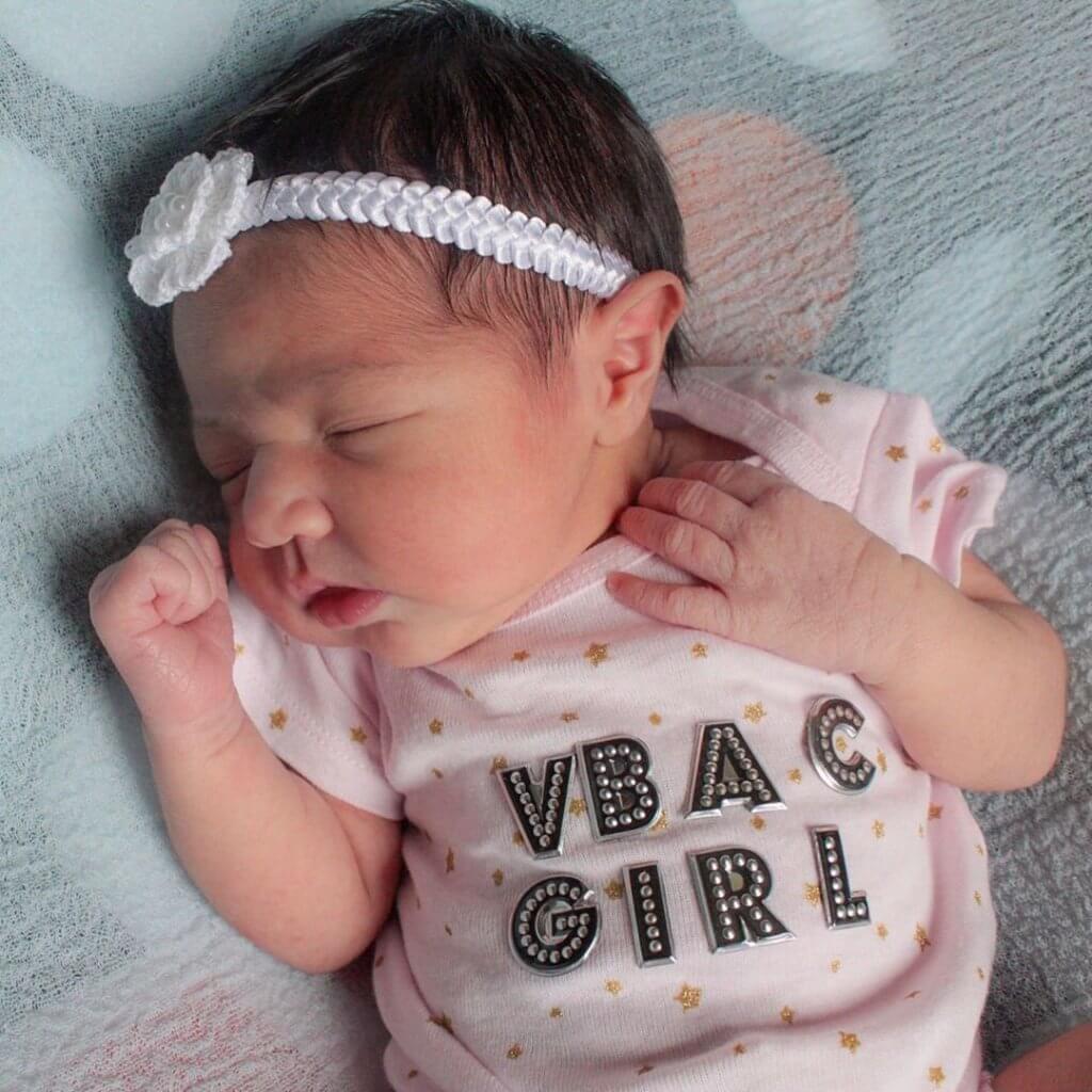Partos normais após cesáreas são seguros e possíveis. Foto: @hermaris.anchoreddiary/Instagram