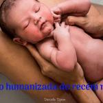 Recepção humanizada do recém nascido