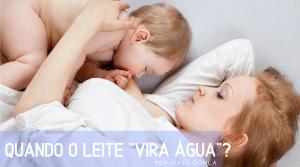 quando o leite 'vira água'? por @maludoula