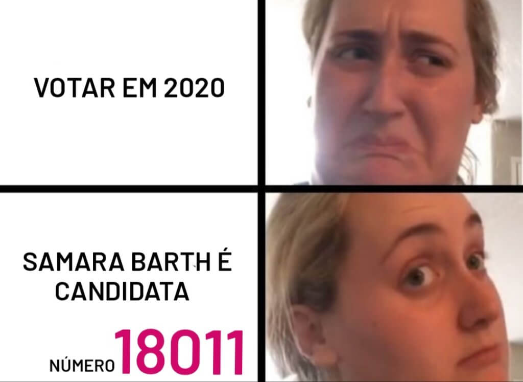 meme Vereadora Itapetininha Mulher